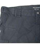 5.11 Tactical Series Mens Navy Blue Cargo Pants Poly Cotton Blend Mens 4... - $39.49
