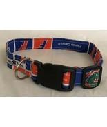 Adjustable Florida Medium Dog Collar Doggy Bahama Durable Fabric New UF - $16.82