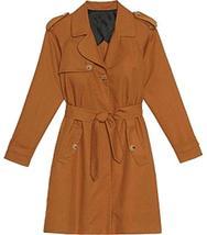 Fifty Shades Darker Anastasia Steele Dakota Johnson Tan Brown Cotton Coat image 2