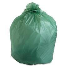 "Stout Compostable Trash Bags,48Gal,.85ml,42""x48"",40/BX,Gree - $66.96"