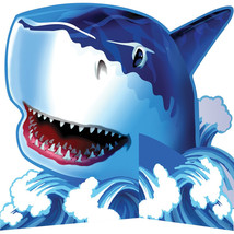 Shark Splash Standup Centerpiece Diecut/Case of 6 - £29.81 GBP