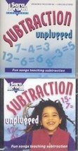 Subtraction Unplugged Kit by Sara Jordan Mixed Media teaching songs Book CD - $7.66