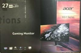 "Acer - KG271U - 27"" LCD 16:9 2560 x 1440 WQHD 1ms Gaming Monitor - $395.95"