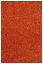 "Bright House Solid Color Orange 6""x6""-Sample - Area Rug - $5.13"