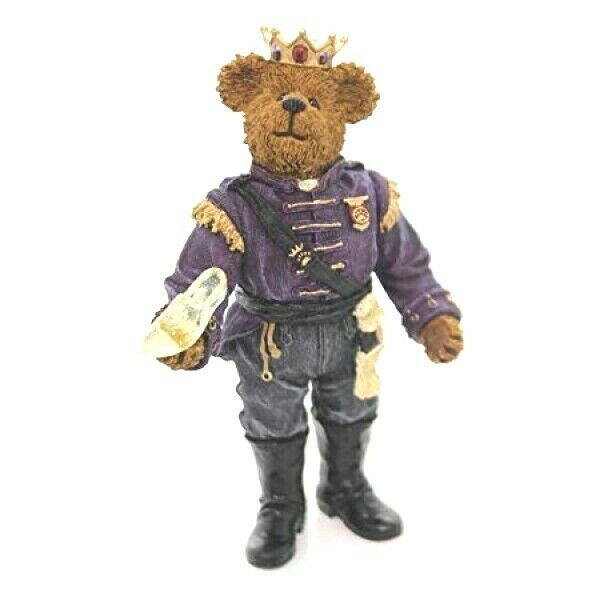 "Primary image for Boyds Shoe Box Bear ""Prince Bearycharming""  5"" Bear- #3241-  1E- Retired"
