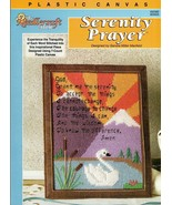 Serenity Prayer in Plastic Canvas by Sandra Maxfield Needlework Shop 400382 - $7.95