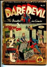 Daredevil #35 1946-Lev Gleason-2 Superhero stories-P - $31.53