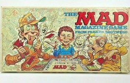 The Mad Magazine Board Game 1979 Parker Brothers Complete Refurbished & Sealed - $44.55