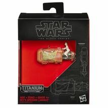 Star Wars The Force Awakens Black Series Titanium Rey's Speeder  #05 - $19.99