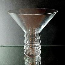 "1 (One) RIEDEL O Martini Hollow Stem Lead Free Crystal Glass 4 1/2"" Tall... - $14.24"