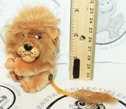 "DAKIN CLIP-ON HUGGER PLUSH LION CLASP TOY PLUSH 3"" VINTAGE 1970/80s FIGU... - $4.88"
