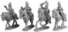 Xyston 15mm: Mounted Maiden Guard (4)