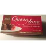*NEW* (1) Box QUEEN ANNE CORDIAL CHERRIES, 10 Count August 26  2021 - $9.49