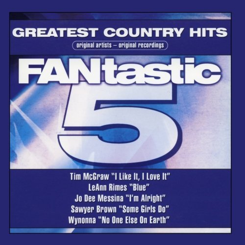 Fantastic 5 Series - Greatest Country Hits [Audio CD] Various Artist