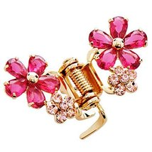 Sweet Flower Hair Claw Fashion Hair Clip Small Size Claw/Hairpin