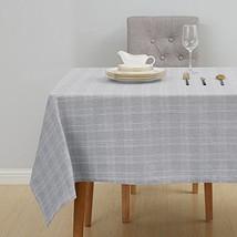 Deconovo Scottish Plaid Tablecloth Water and Wrinkle Resistant Plaid Tab... - $29.23
