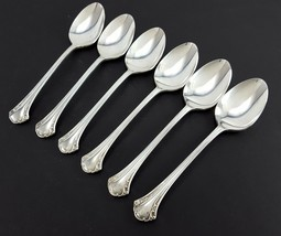 "1847 Rogers Bros BERKLERY 6 Oval Soup Spoons 7-1/2"" Silverplate Korea - $26.73"
