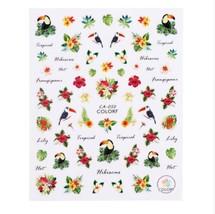 """HS Store - 1pcs """"CA-040"""" 3D Sweet Beauty Flower Sticker Nail Art Decal Nail - $2.62"""