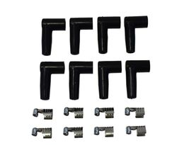 9.5mm Black Silicone High Performance Spark Plug Wire Set Universal Fit V8 V6 image 9
