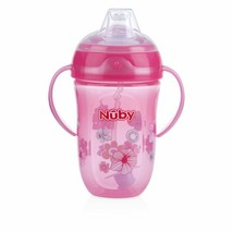 Nuby 360 2 Handle Comfort Cup, Girl, 9 Ounce ( Color may vary ) free shi... - $14.85