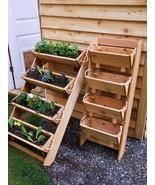 Garden Planter Succulent Herb Vegetable Vertical Potato Bin Standing Ced... - $236.61+