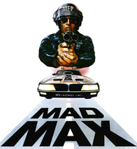 Mad Max Intereceptor T-shirt Free Shipping Road Warrior 80's movie cotton tee image 2