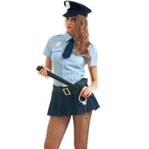 Bad Cop Womens Halloween Costume | Sexy Police Officer Policewoman Outfit