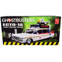 Skill 2 Model Kit 1959 Cadillac Eldorado Ambulance Ecto-1A Ghostbusters ... - $55.63