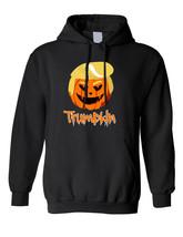 Adult Hoodie Trumpkin Trending Halloween Trump Funny Pumpkin Top - $29.94+