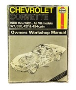 Haynes Chevrolet Corvette 1968 thru 1982 Automotive Repair Manual V8 Models 274  - $29.67