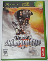 Xbox - Unreal CHAMPIONSHIP (Complete with Manual) - $8.00