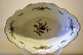Rosenthal 1963 Antoinette Oval Vegetable Bowl #626 Pompadour Shape - $34.64