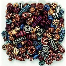 Chenille Kraft Exotic Plastic Beads, Assorted Colors, Pack Of 170 - $18.96
