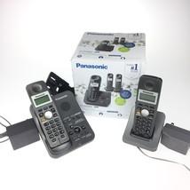 Panasonic KX-TG3683B Dect 6.0 2-Handset Landline Telephone - $29.69