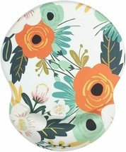Floral Mouse Pad with Wrist Support