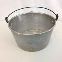 Wearever Vtg USA Made Aluminum Bucket Stockpot NO LID - $38.61
