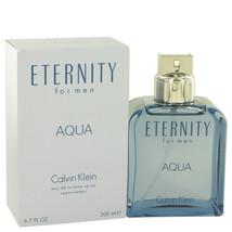 Eternity Aqua Eau De Toilette Spray 6.7 Oz For Men - $59.31