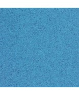 4.75 yd Maharam Kvadrat Divina Melange Blue Wool Upholstery Fabric 46083... - $117.33
