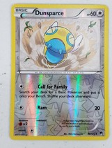 Pokemon XY Series BREAKPoint - Dunsparce (Reverse Holo) - $2.00