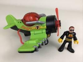 Imaginext Sky Racer Sea Stinger Airplane Wing Flapping Action 2009 Fishe... - $19.75