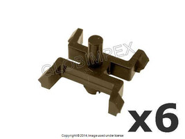 BMW E28 (1982-1988) Moulding Clip (Set of 6) GENUINE - $21.95
