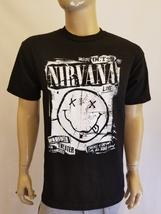 New Men Nirvana Tour Smiley Face T-Shirt - $16.99+