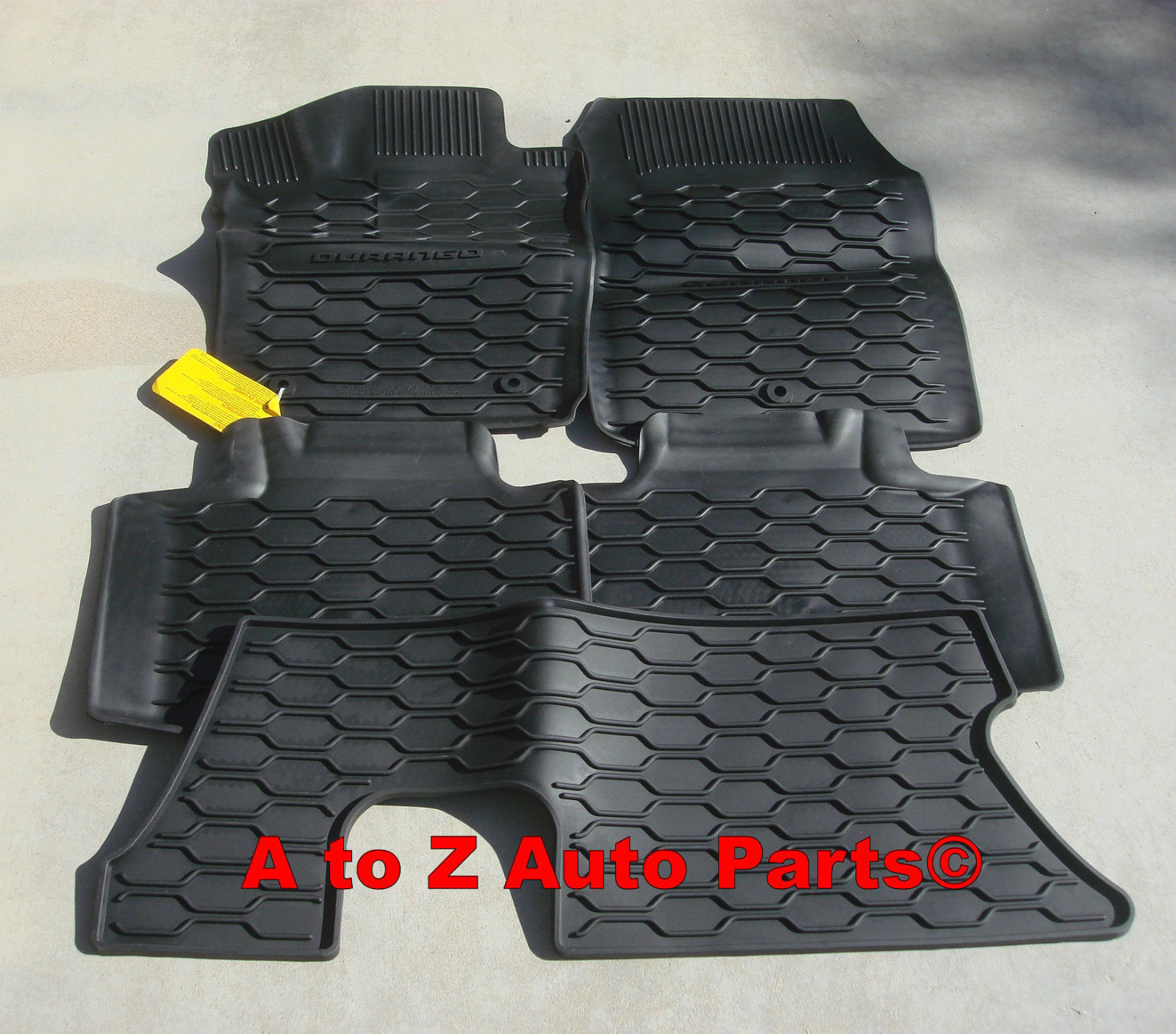 Fit 2011-2018 Dodge Challenger Car Floor Mats Front /& Rear Black Slush Mat