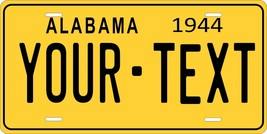Alabama 1944 License Plate Personalized Custom Car Auto Bike Motorcycle Moped - $10.99+