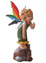 [Short-Hair Fairy] Resin Crafts Auto Ornament/Car Decoration,5.5x2.3x1.9'',Green
