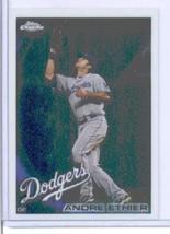 2010 Topps Chrome Baseball Card # 74 Andre Ethier - Los Angeles Dodgers - MLB Tr - $0.97