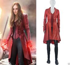 Captain America Civil War Scarlet Witch Wanda Maximoff Cosplay Costume C... - $148.49