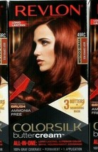 1 Revlon Colorsilk Buttercream Vivid Hair Color 49RC Deep Copper Red All... - $14.99