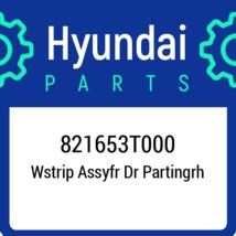 821653T000 Hyundai Wstrip Assyfr Dr Partingrh, New Genuine OEM Part - $22.32