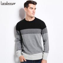 2017 New Autumn Winter Fashion Brand Clothing Men's Sweaters O-Neck Slim... - $24.78